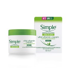 Simple Kem dưỡng da ban đêm Vital Vitamin Cream Night 50ml (Hộp)