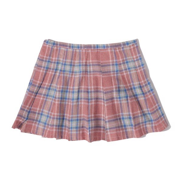 CHECKED TENNIS SKIRT