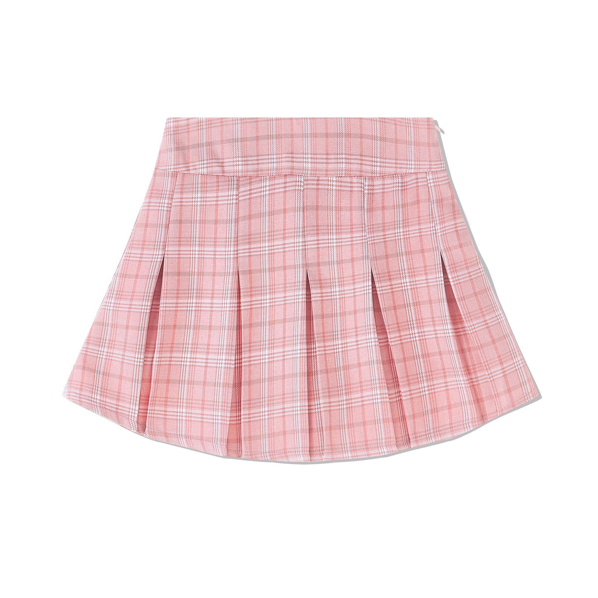 90's PLEATED SKIRT PINK