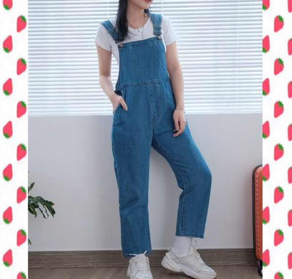 JEANS OVERALL