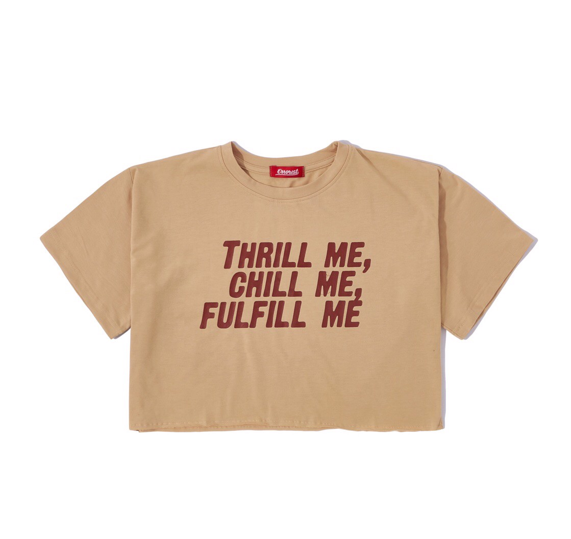 THRILL ME  CROPTOP