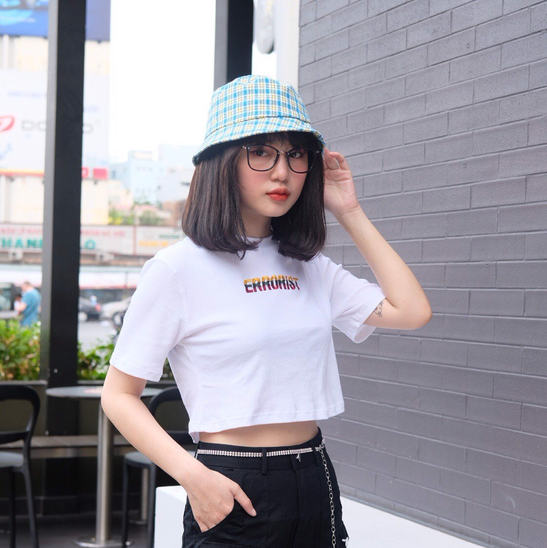 LOGO COLOR CROPTOP