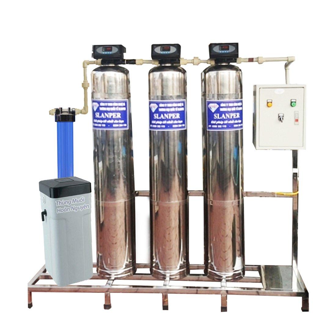 Cột lọc đa tầng inoxSLP.HH301MAX lọc nước hôi tanh, chất độc trong nước.