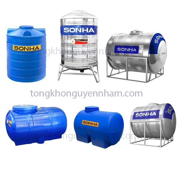 Bồn nước, téc nước Sơn Hà 6000 lít