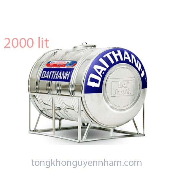 Bồn nước, téc nước inox Tân Á Đại Thành 2000 lít