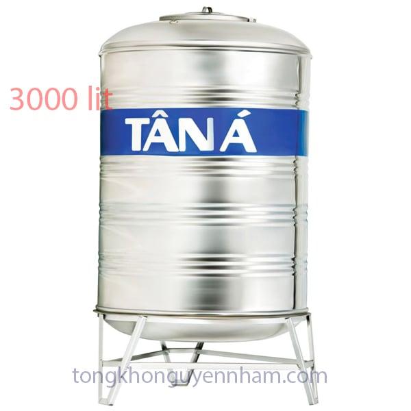 Bồn nước, téc nước inox Tân Á Đại Thành 3000 lít