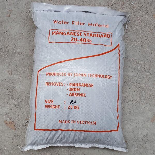 Mangan tự nhiên cao cấp lọc nước