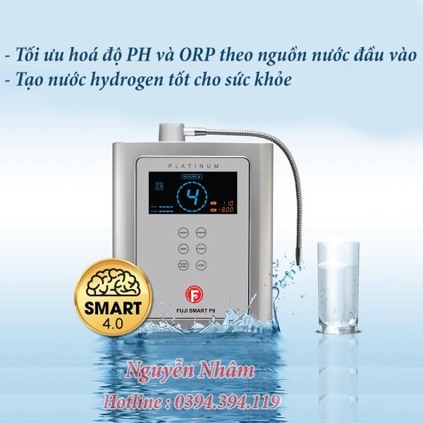 máy điện giải FUJI SMART P8