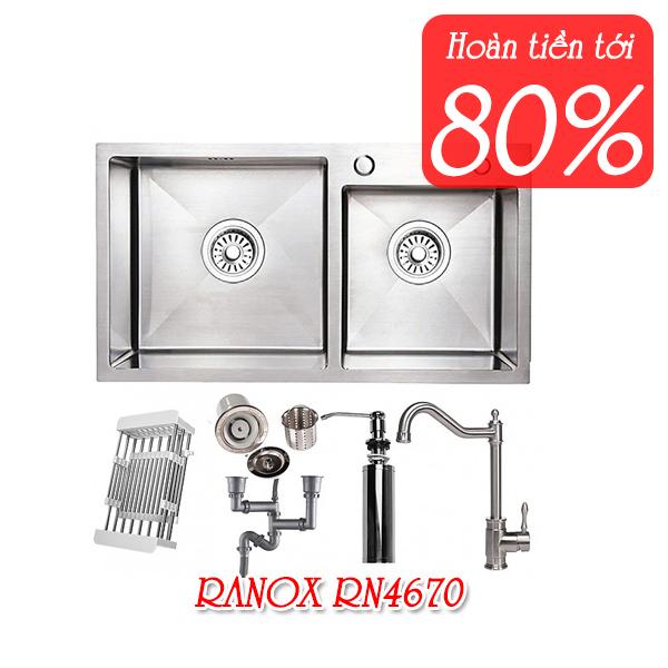 Chậu vòi rửa chén RANOX RN4670