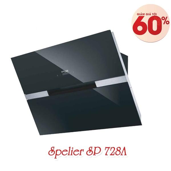 Máy hút mùi toa kính gắn tường Spelier SP 728A