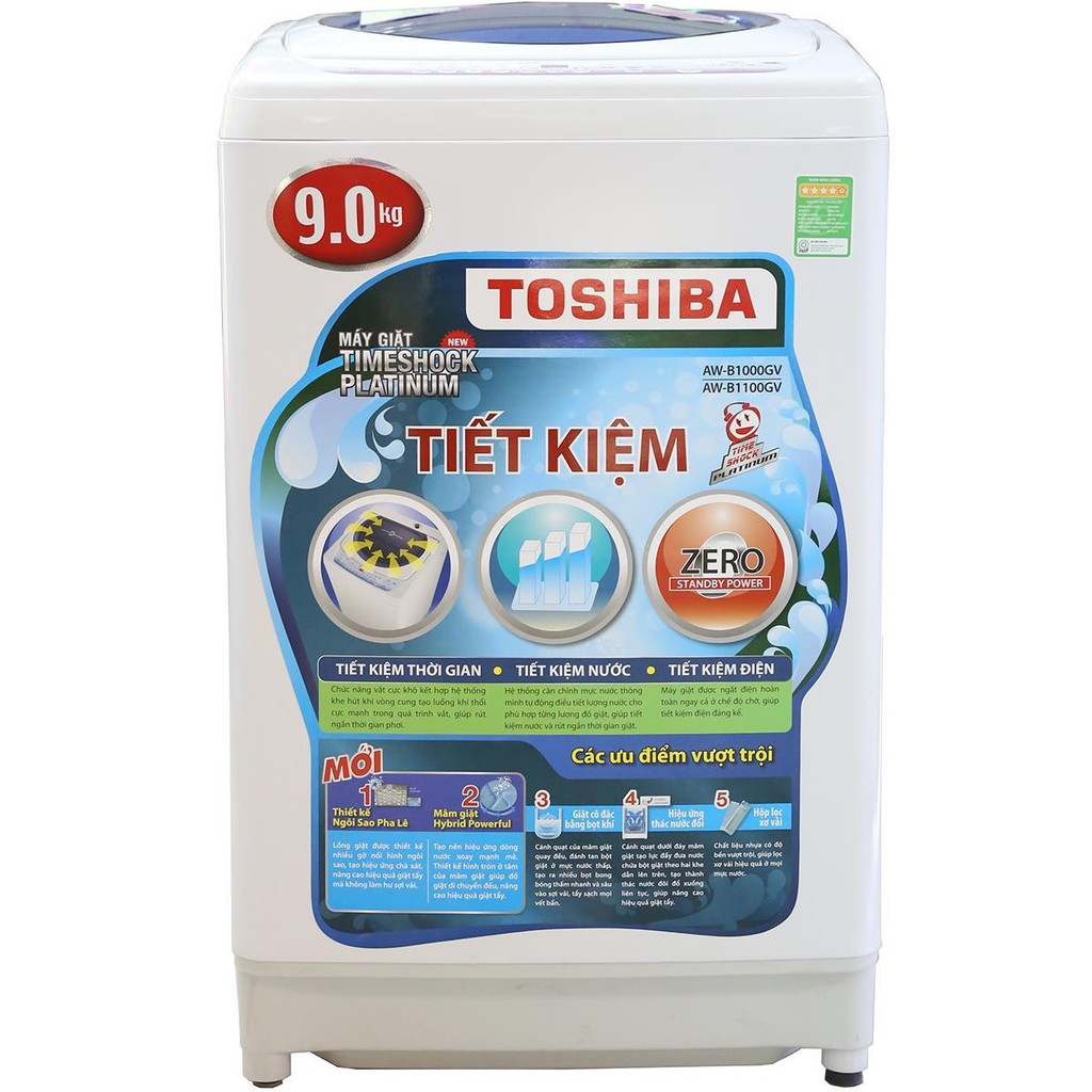Máy giặt Toshiba 9 kg AW-G1100GV WB