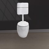 V132 wall hung toilet