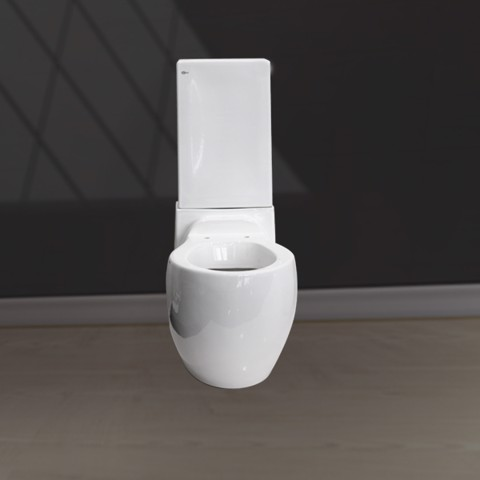 V133 wall hung toilet