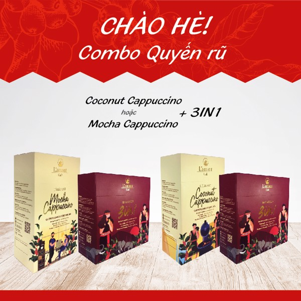 COMBO QUYẾN RŨ (Coconut/Mocha Cappuccino +  3IN1 Coffee)