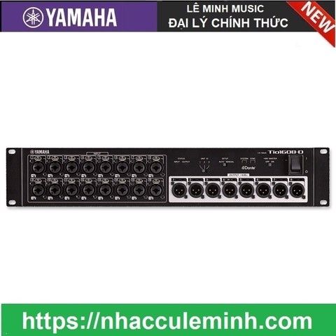I/O Box 16 In / 8 Out Yamaha TIO1608-D