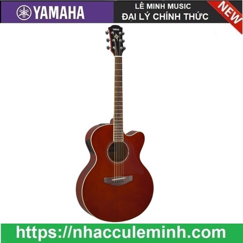 Guitar Acoustic Yamaha Electric CPX 600 Rootbeer