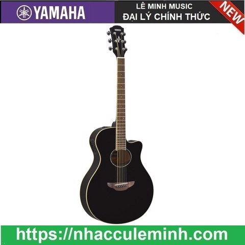 Guitar Acoustic Yamaha Electric CPX 600 Black