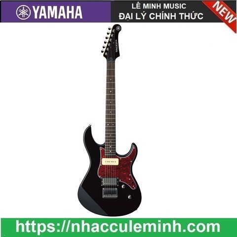 Guitar Điện PACIFICA611H Black