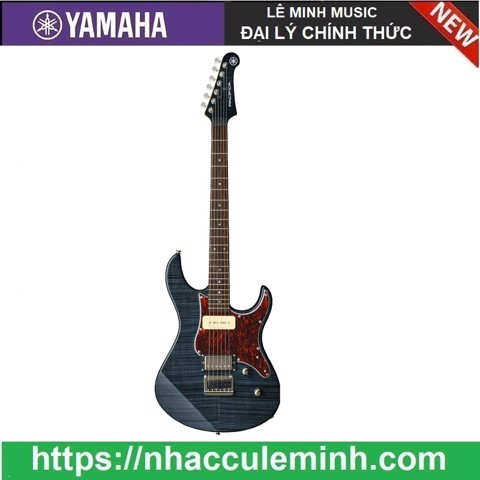 Guitar Điện PACIFICA611HFM Translucent Black