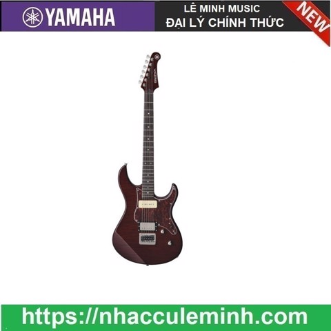 Guitar Điện PACIFICA611HFM Root Beer