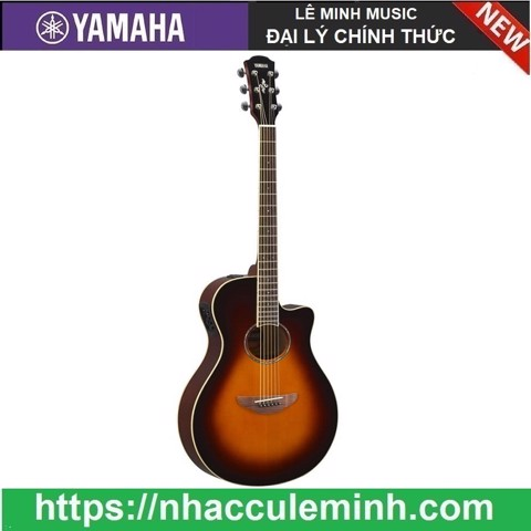 Guitar Acoustic Yamaha Electric APX 600 Sunburst