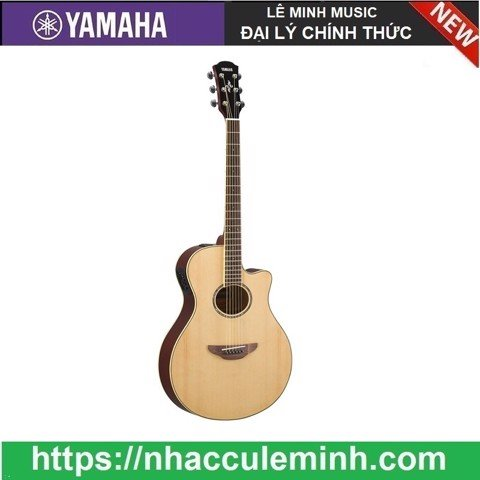 Guitar Acoustic Yamaha Electric APX 600 Natural