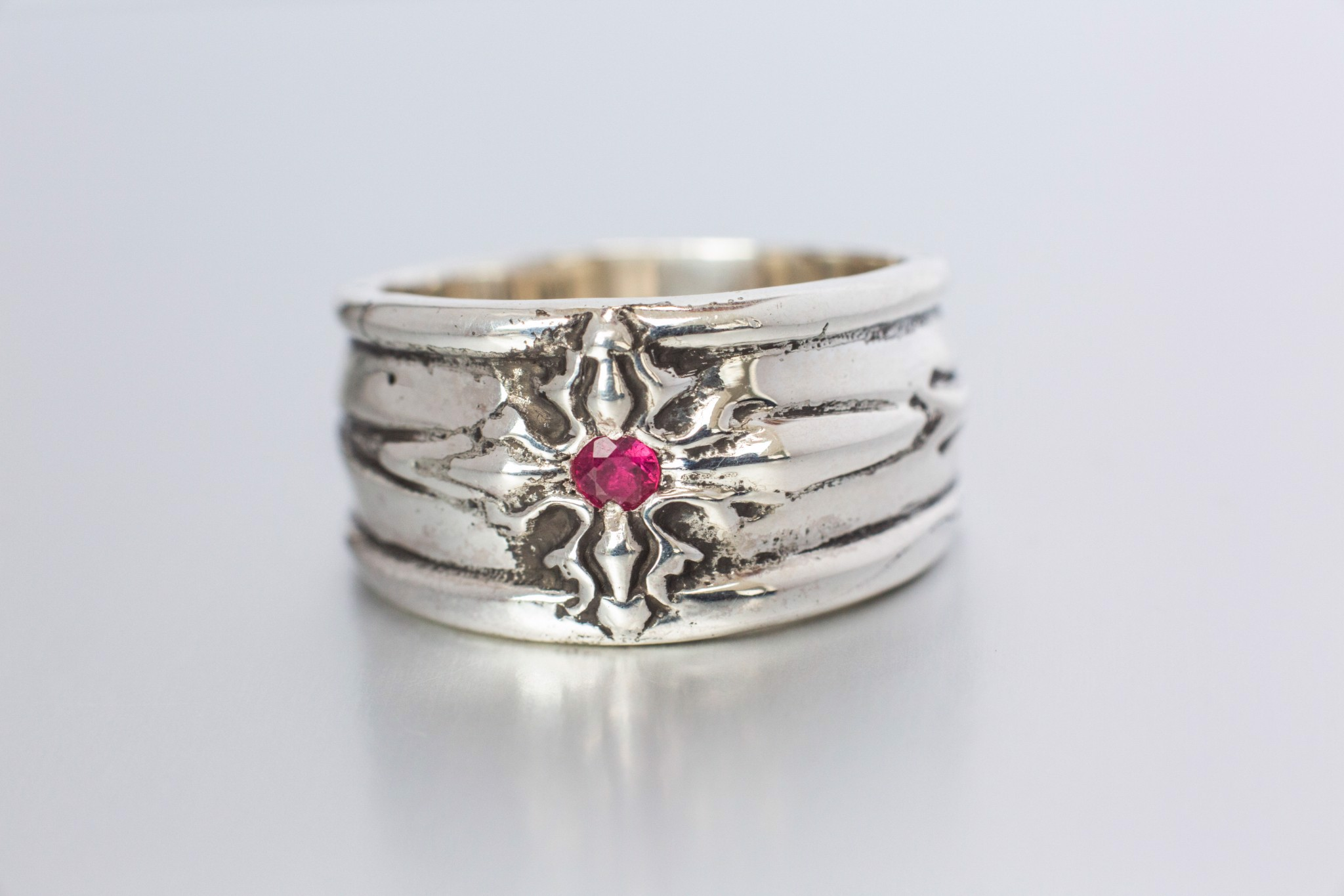 MorningStar Ring / Ruby