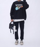 +LVS CAYA SHOULDER BAG /BLACK