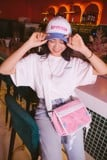 + LVS CAYA SHOULDER BAG /PINK