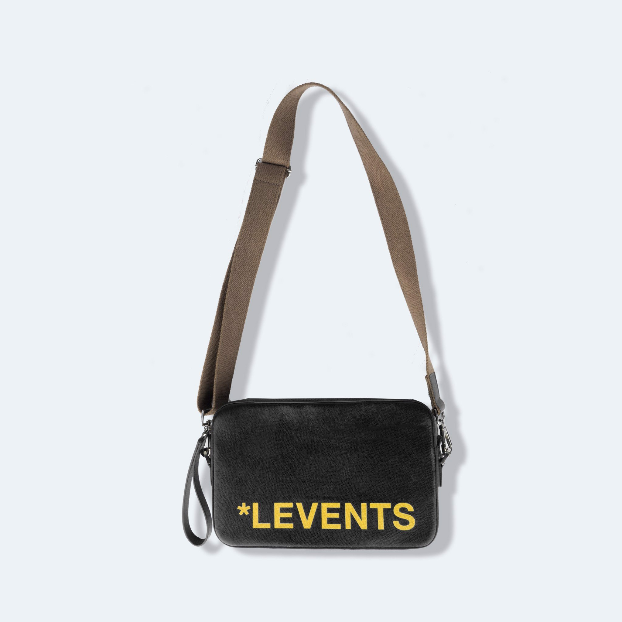 + LVS SHOULDER BAG / BLACK