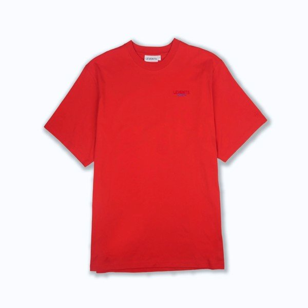 LVS ESSENTIALS TEE RED