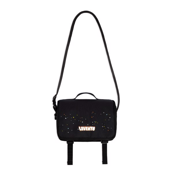 LEVENTS® SPACE SHOULDER BAG / BLACK