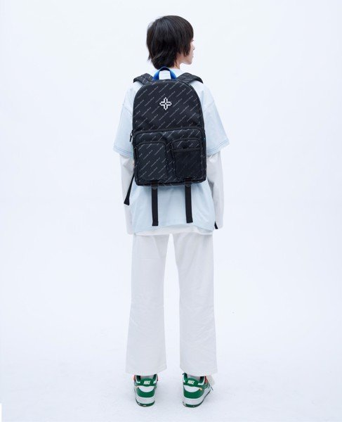 +LVS HATAGRAM BACKPACK/ BLACK