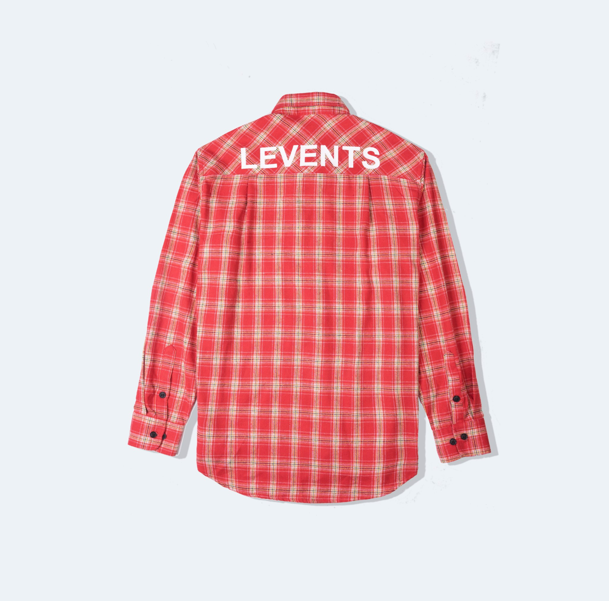 + LVS FLANNEL - RED