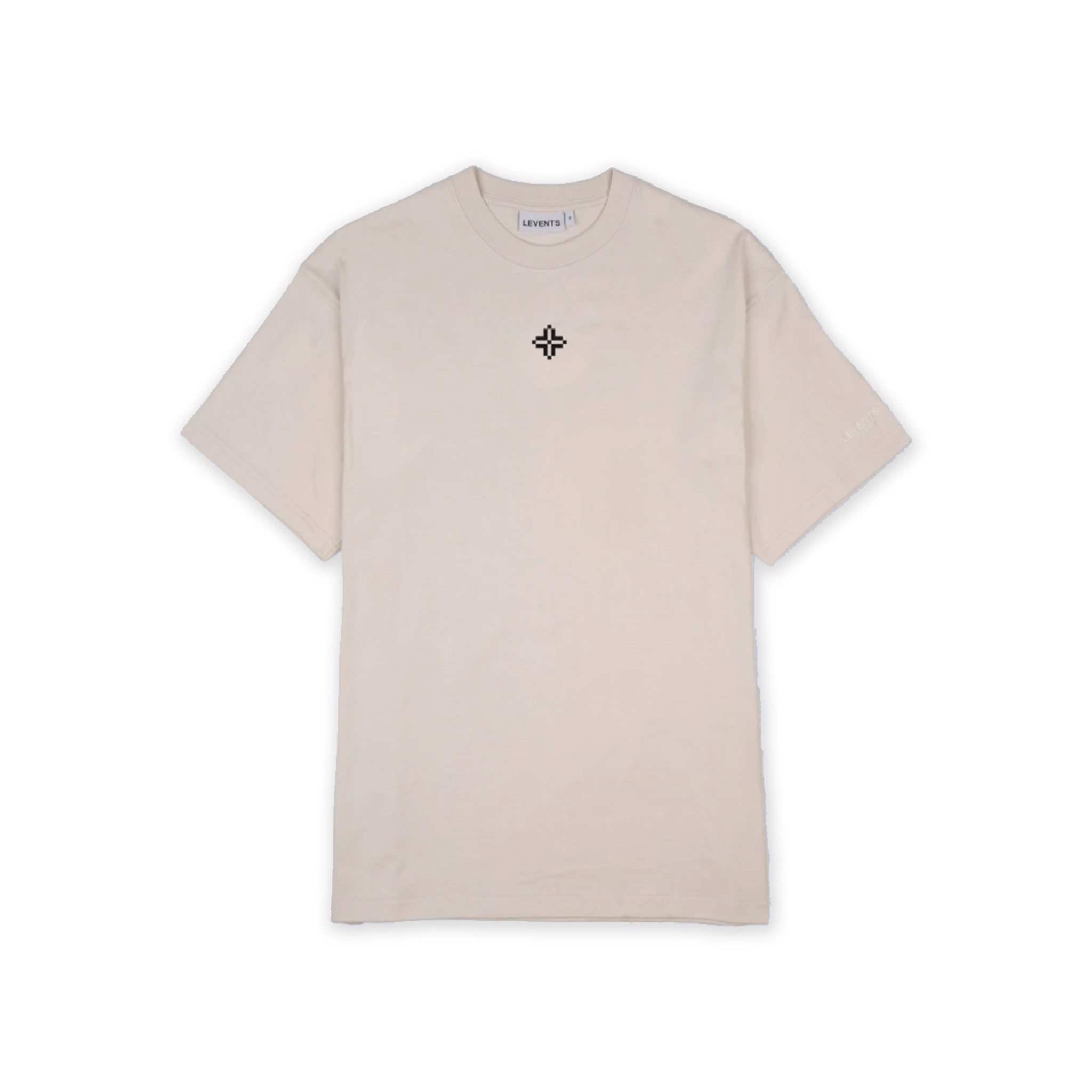 LVS XL LOGO TEE - BROWN/BLACK