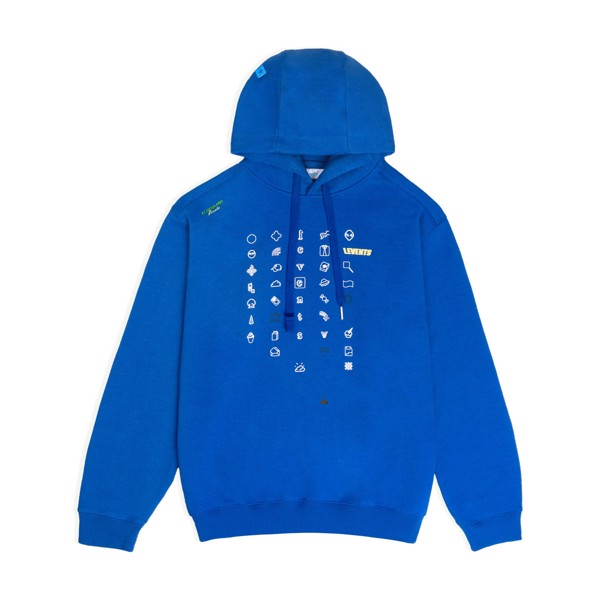 LEVENTS® SPACE GALAXY HOODIE / BLUE