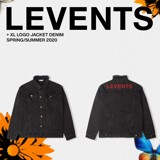 LVS XL LOGO DENIM - BLACK