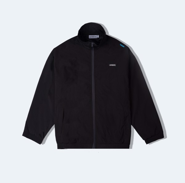 +LVS ZIPPER JACKET BLACK