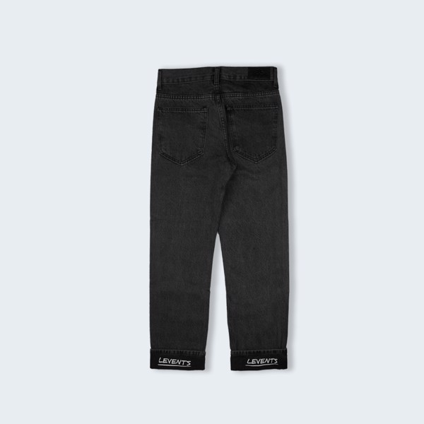 +LVS REGULAR JEAN-BLACK