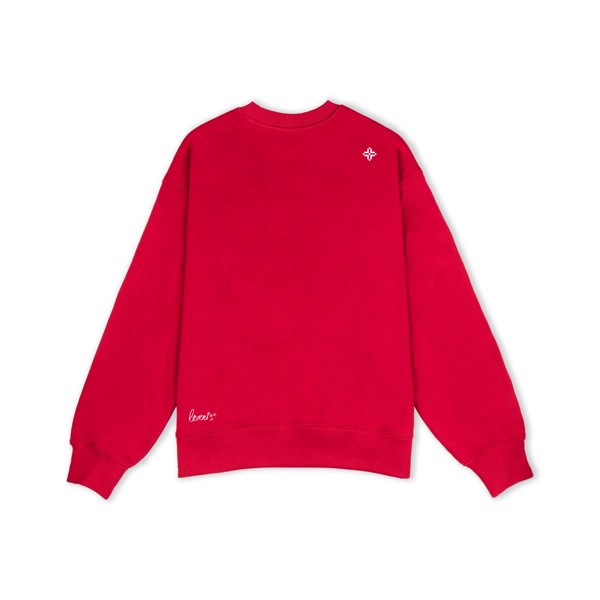 LVS BASIC SWEATER / RED