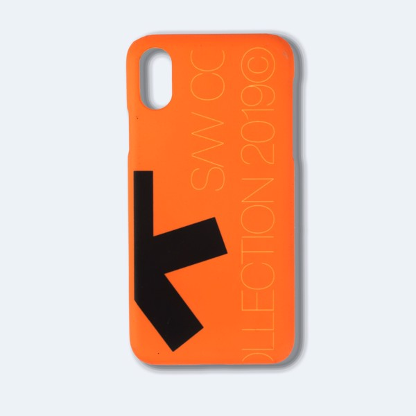 H.R.C* ON THE WALL IPHONE CASE ORANGES