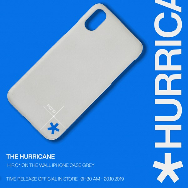 H.R.C* ON THE WALL IPHONE CASE GREY