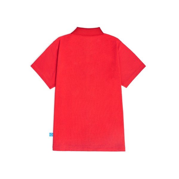 LEVENTS®  DROP SHOULDER SS POLO SHIRT/RED