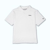 +LVS ESSENTIALS POLO WHITE