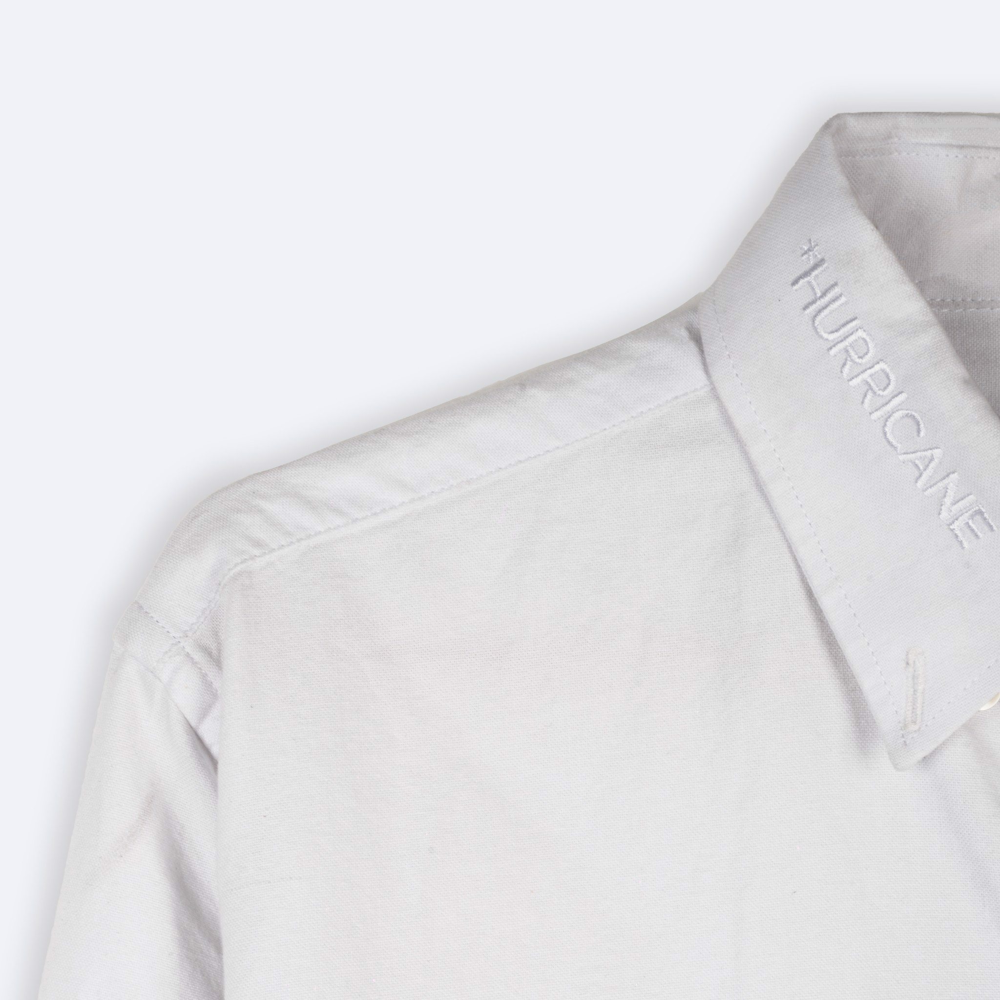 *MOGO POCKET OXFORD SHIRT WHITE