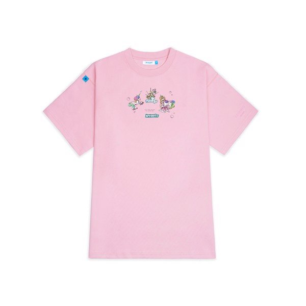 LVS Mini Unicorn Tee / PINK