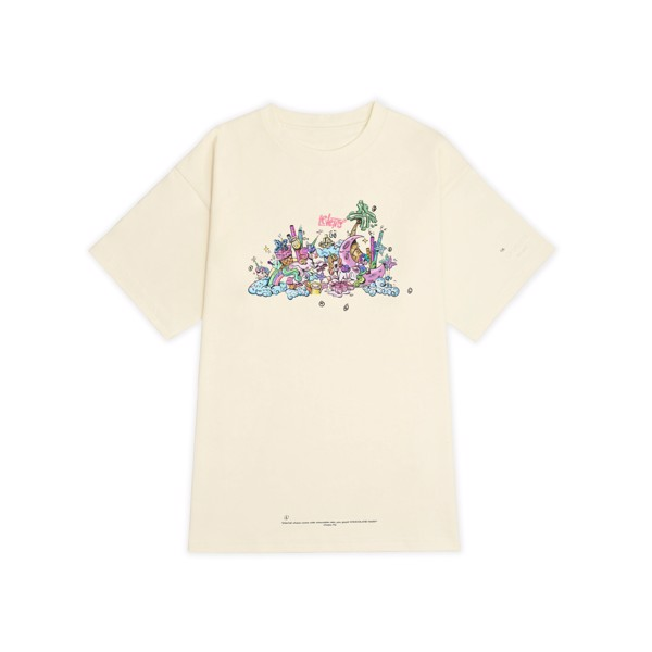 LVS UNICORN TEE / CREAM