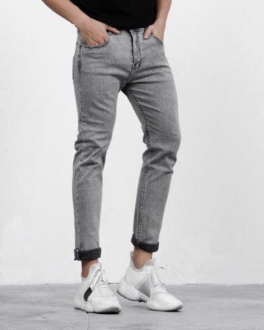 Grey Slim-Fit Jeans 20847