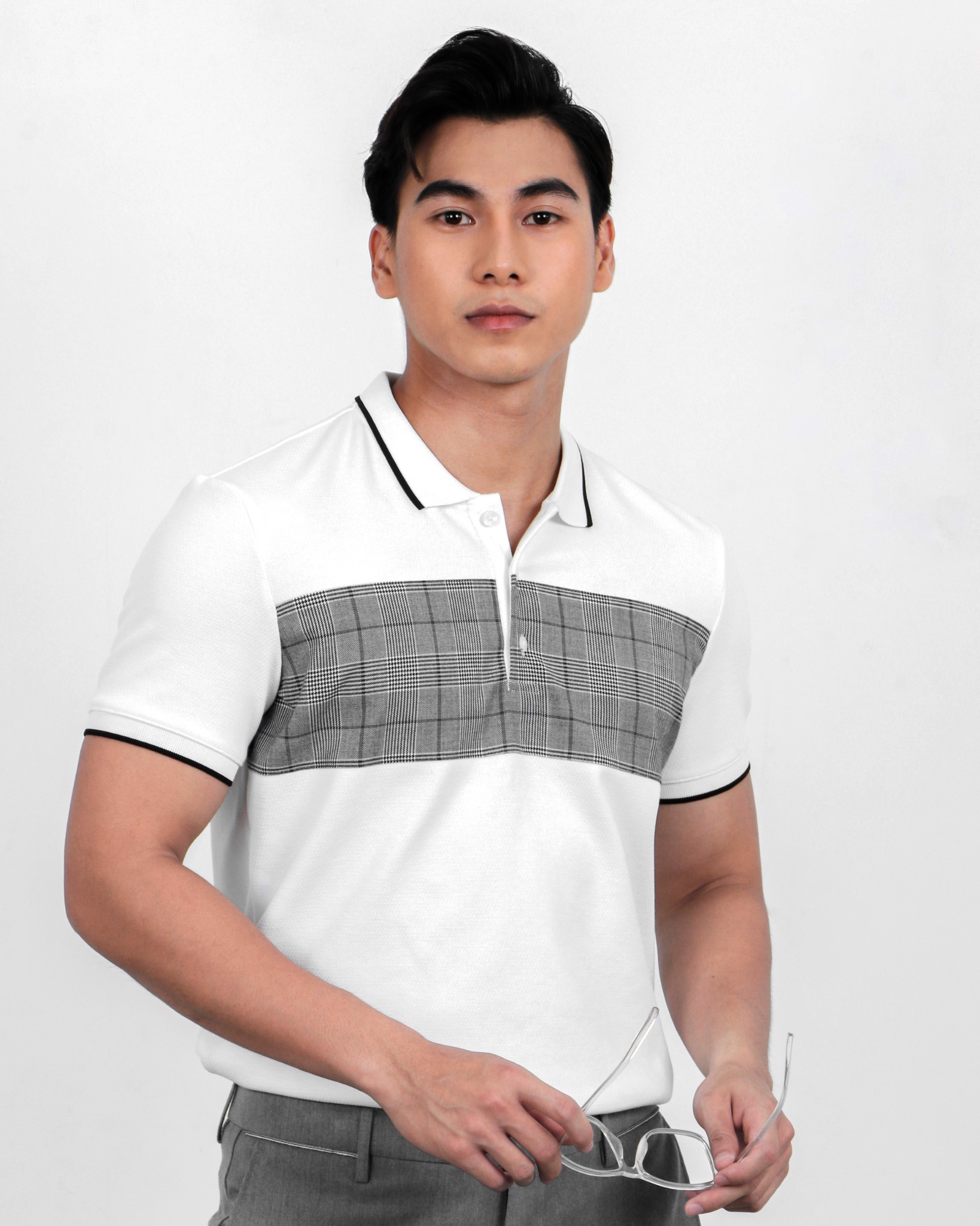 Pattern Mix Polo Tees 20001