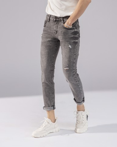 dark grey ripped jeans 113